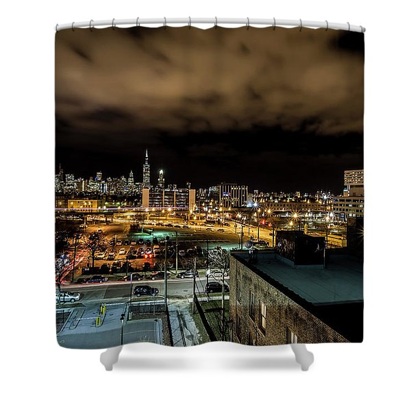 Chicago City And Skyline Shower Curtain