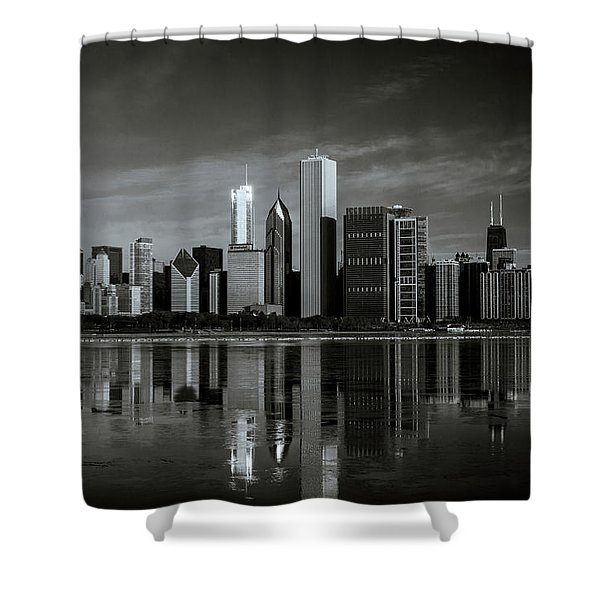 Chicago Lake Front Shower Curtain