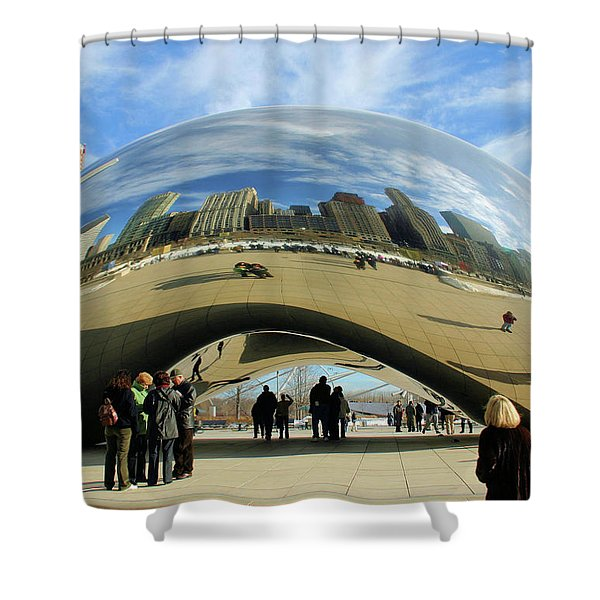 Chicago Reflected Shower Curtain