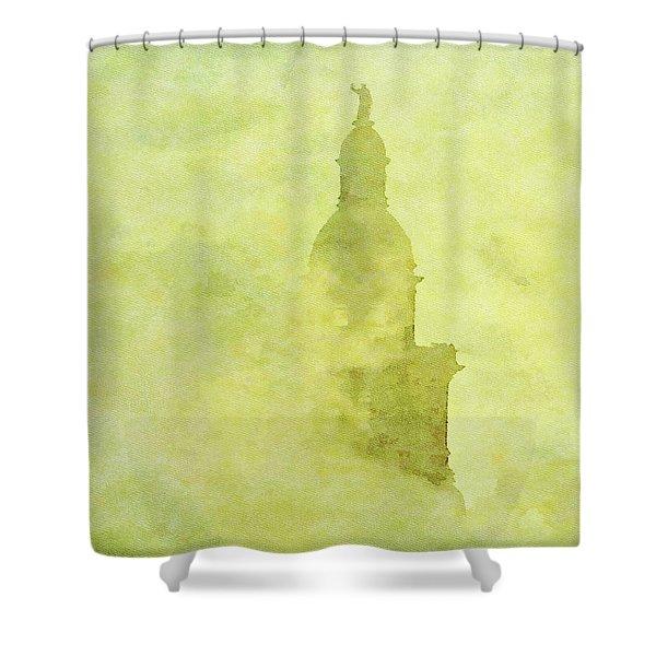 Chicago Steeple Shower Curtain