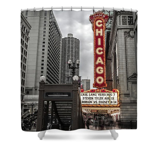 Chicago Thetre Shower Curtain