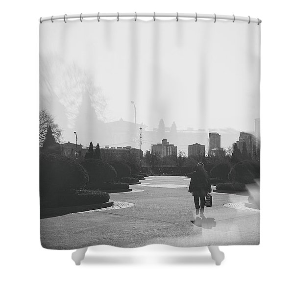 Chicago Walk Shower Curtain