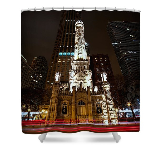 Chicago's Water Tower Shower Curtain