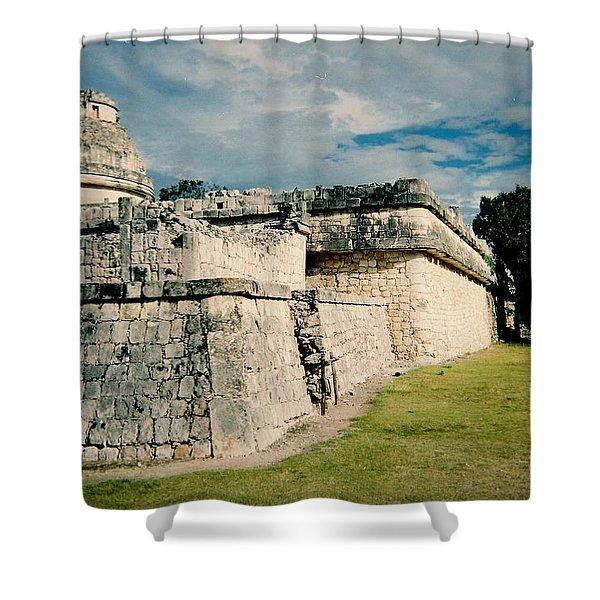 Chichen Itza 1 Shower Curtain