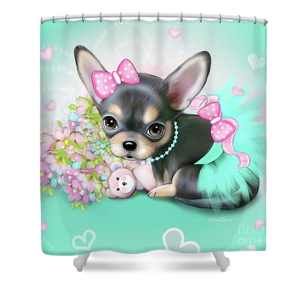 Chichi Sweetie Shower Curtain