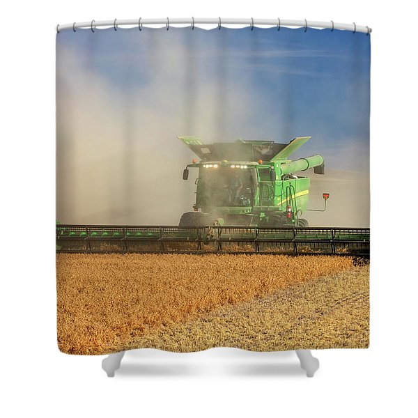 Chickpea Cloud Shower Curtain