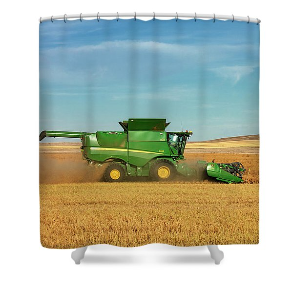Chickpea Combine Shower Curtain