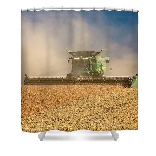 Chickpea Dust Shower Curtain