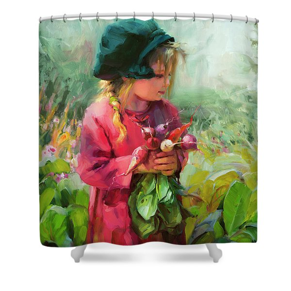 Child Of Eden Shower Curtain