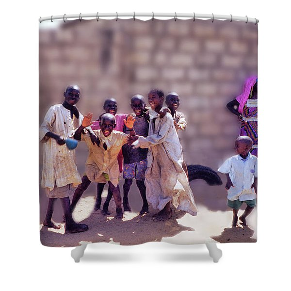 Children Of Kayar  Shower Curtain