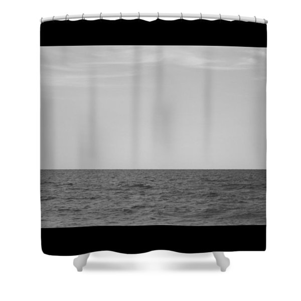 #chilling At The #seaside Of #ostia Shower Curtain