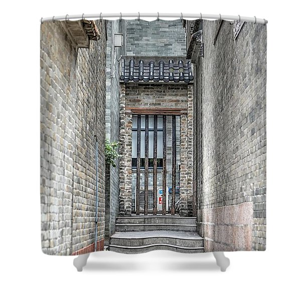 China Alley Shower Curtain