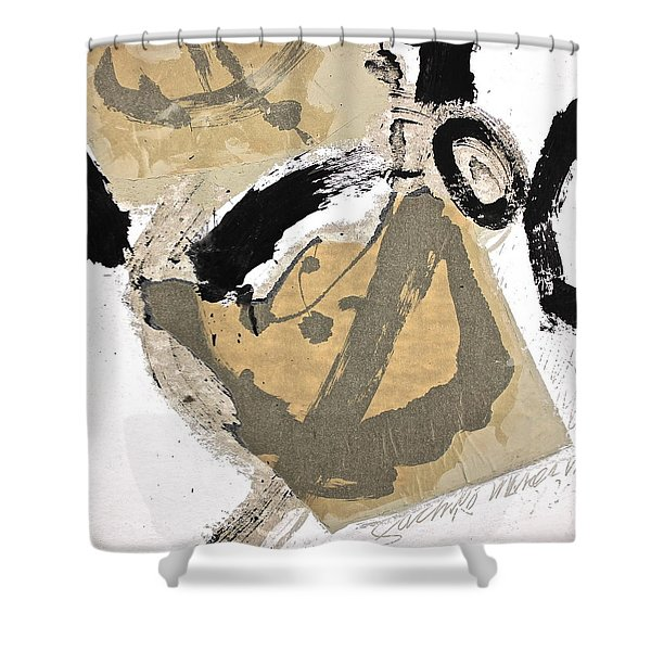 Chine Colle Shower Curtain