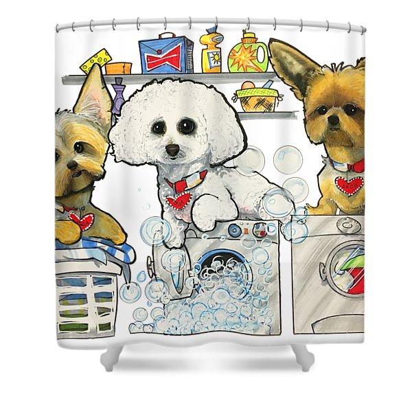 Chinea 7-1438 Shower Curtain