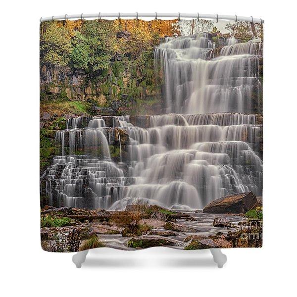 Chittenango Falls Shower Curtain