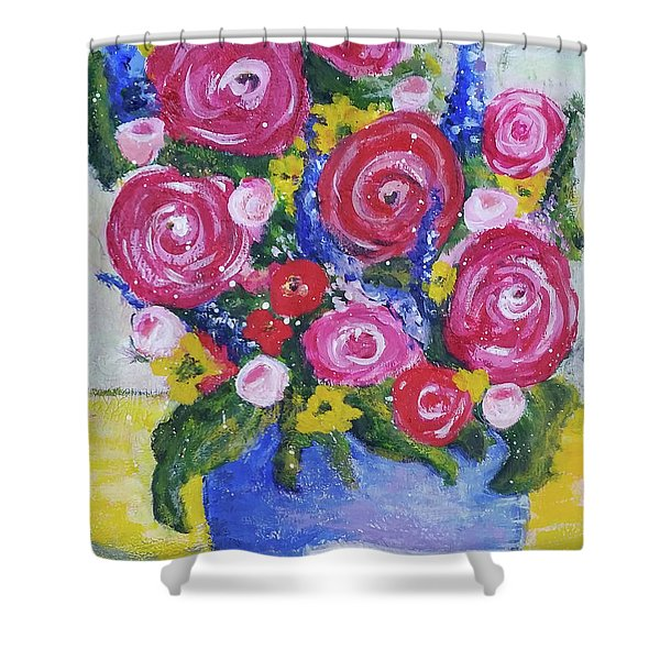Choice Bouquet Shower Curtain