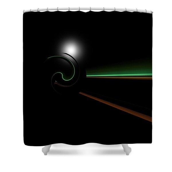 Chompeters Shower Curtain