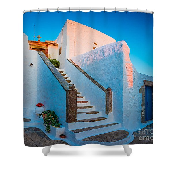 Chora Chapel Shower Curtain