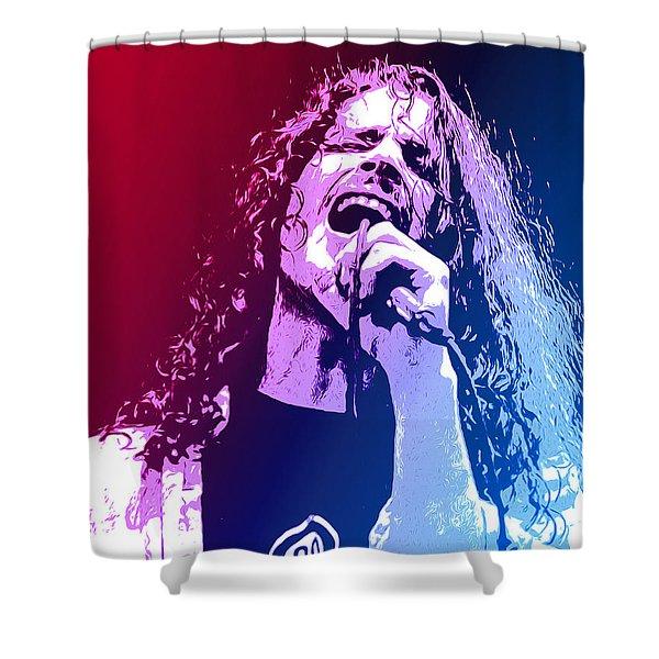 Chris Cornell 326 Shower Curtain