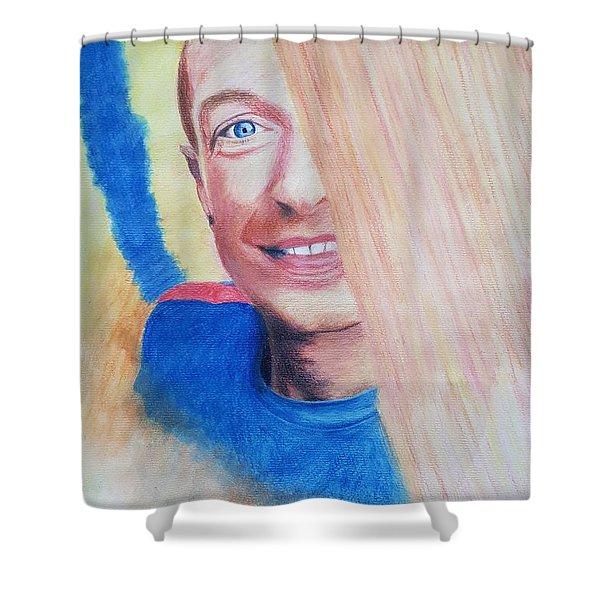 Chris Martin Shower Curtain