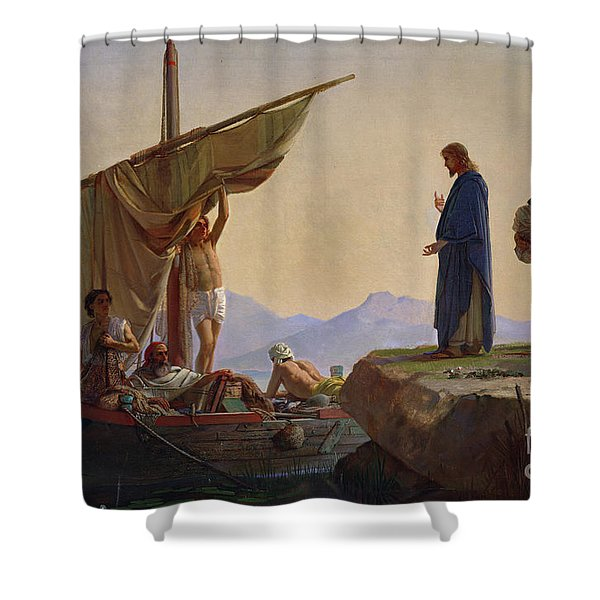Christ Calling The Apostles James And John Shower Curtain