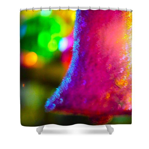 Christmas Bell  Shower Curtain