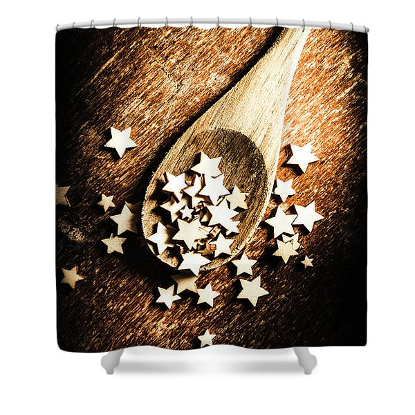 Christmas Cooking Shower Curtain