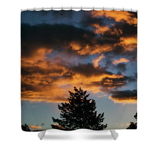 Christmas Eve Sunrise 2016 Shower Curtain