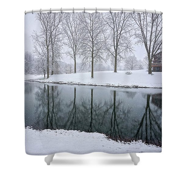 Winter Landsape Shower Curtain