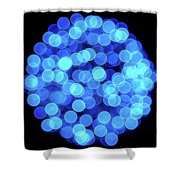 Christmas Lights Illuminate Our Cities Shower Curtain