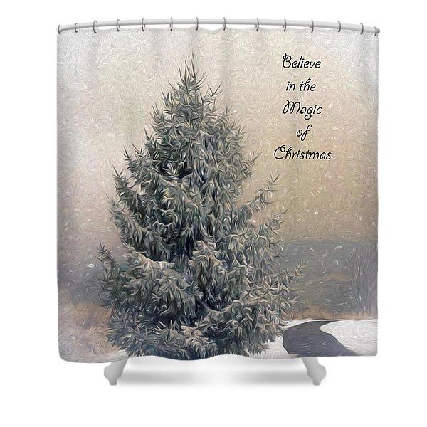 Christmas Magic Shower Curtain