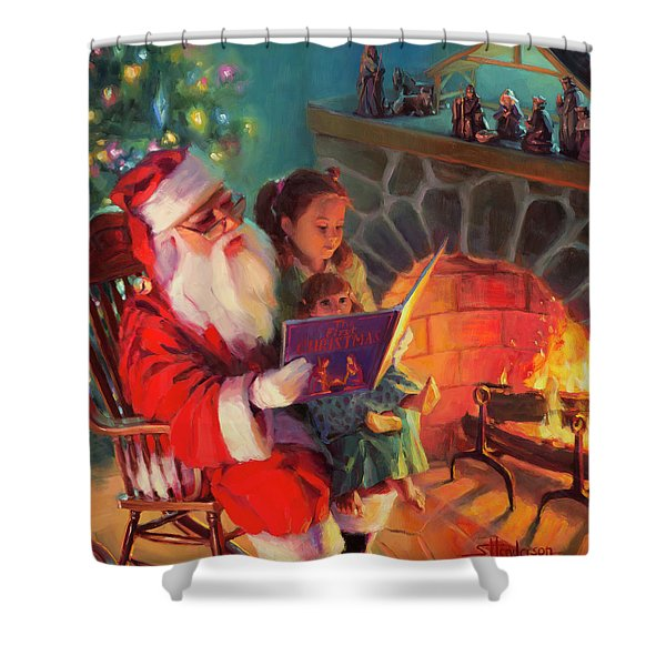 Christmas Story Shower Curtain