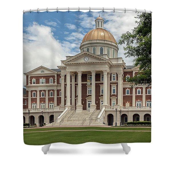 Christopher Newport Hall Shower Curtain