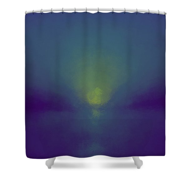 Chromatic Vision Shower Curtain