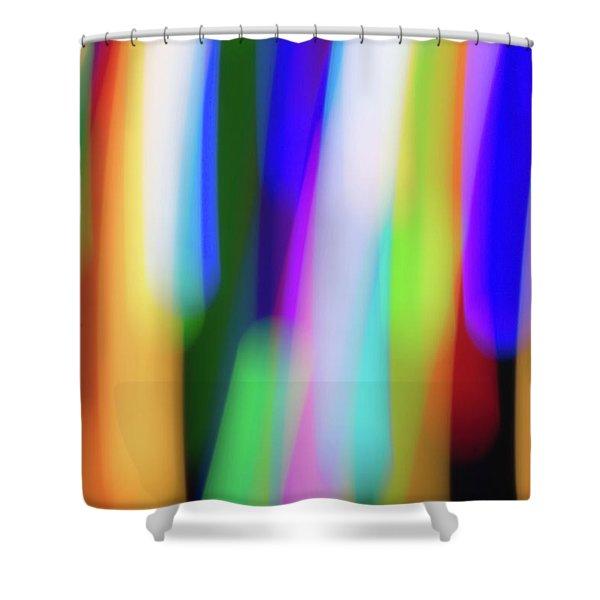 Chromatism Shower Curtain