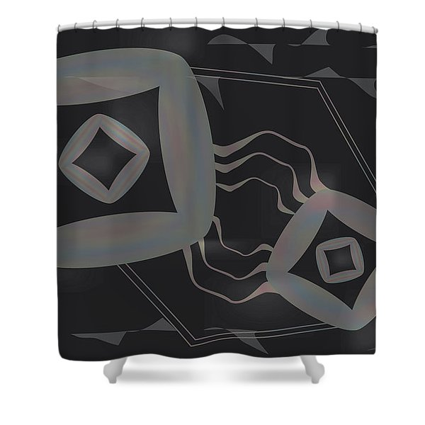 Chromoid Shower Curtain