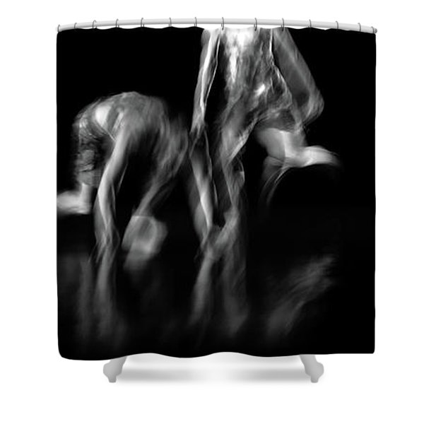 Shower Curtain featuring the photograph Chrychord 9 by Catherine Sobredo