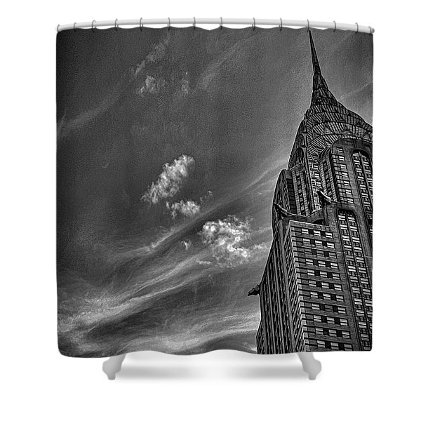 Chrysler Building Nyc Shower Curtain