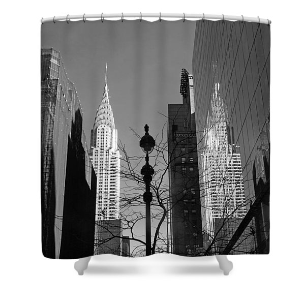 Chrysler Contrast Shower Curtain
