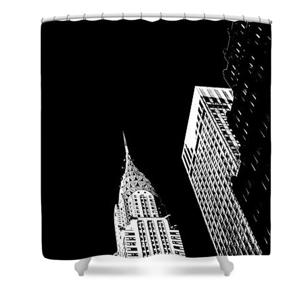 Chrysler Nights Shower Curtain