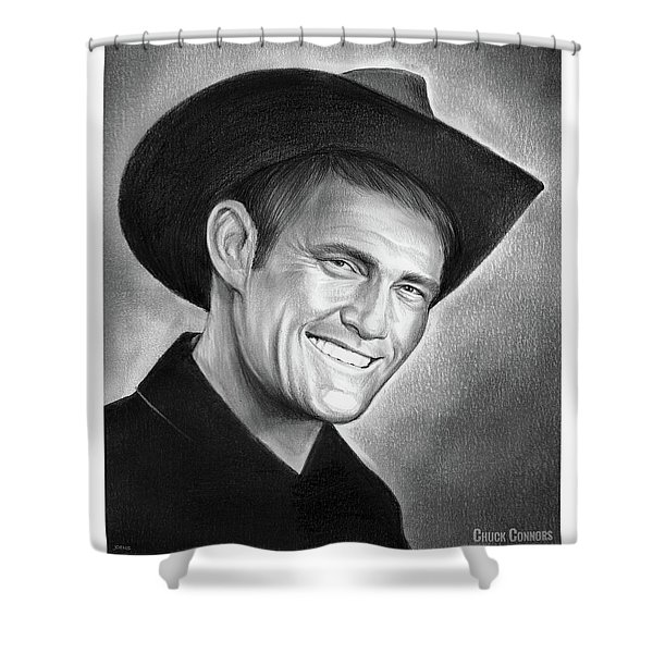 Chuck Connors Shower Curtain