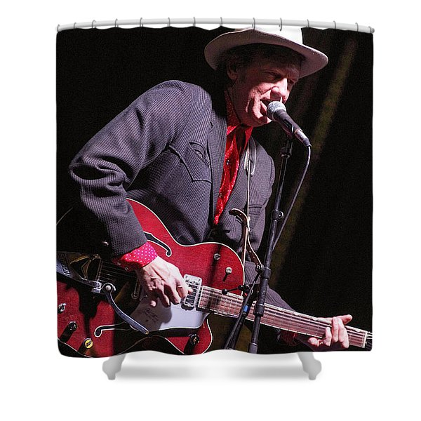 Chuck Mead Shower Curtain