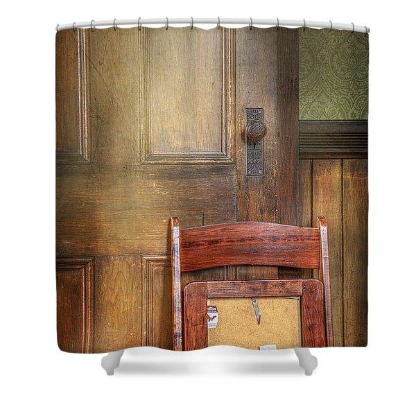 Church Chair Shower Curtain
