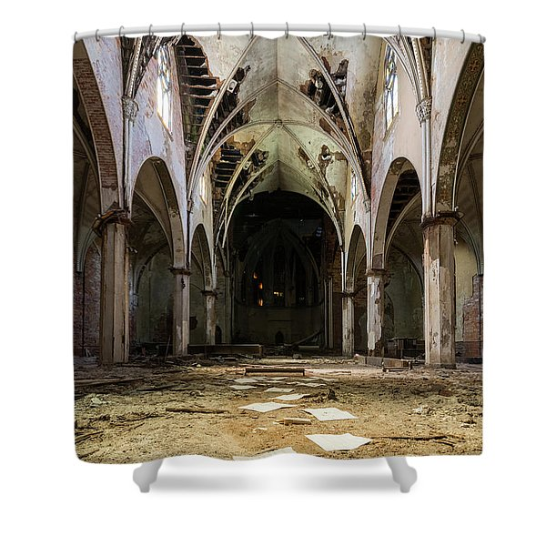 Church In Color Shower Curtain