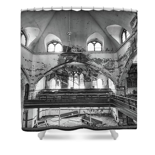Church Murals Shower Curtain