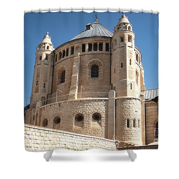 Shower Curtain featuring the photograph Church Of The Dormition by Mae Wertz