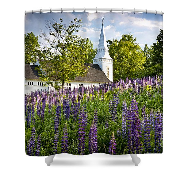 Church On Sugar Hill Shower Curtain