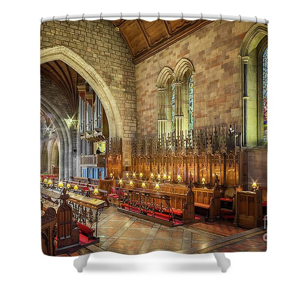 Church Organist Shower Curtain