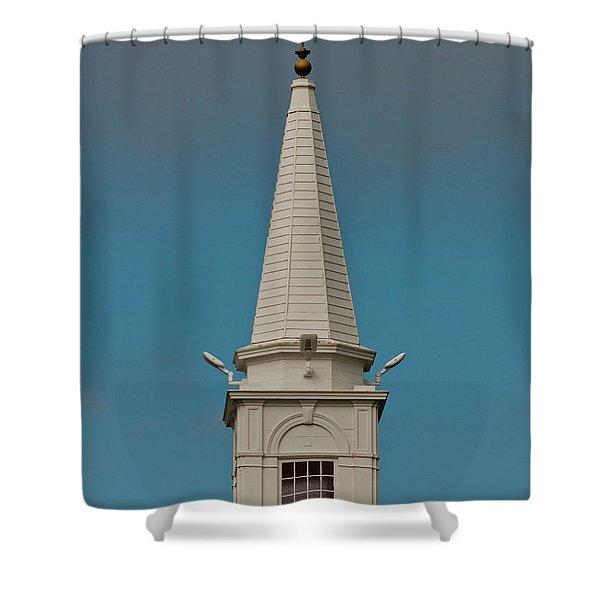 Church Steeple Shower Curtain