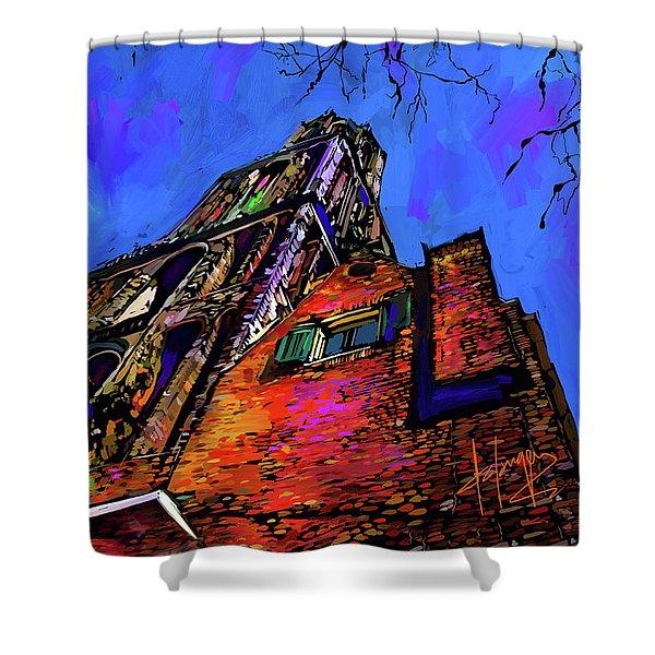 Church, Utrecht, Netherlands Shower Curtain